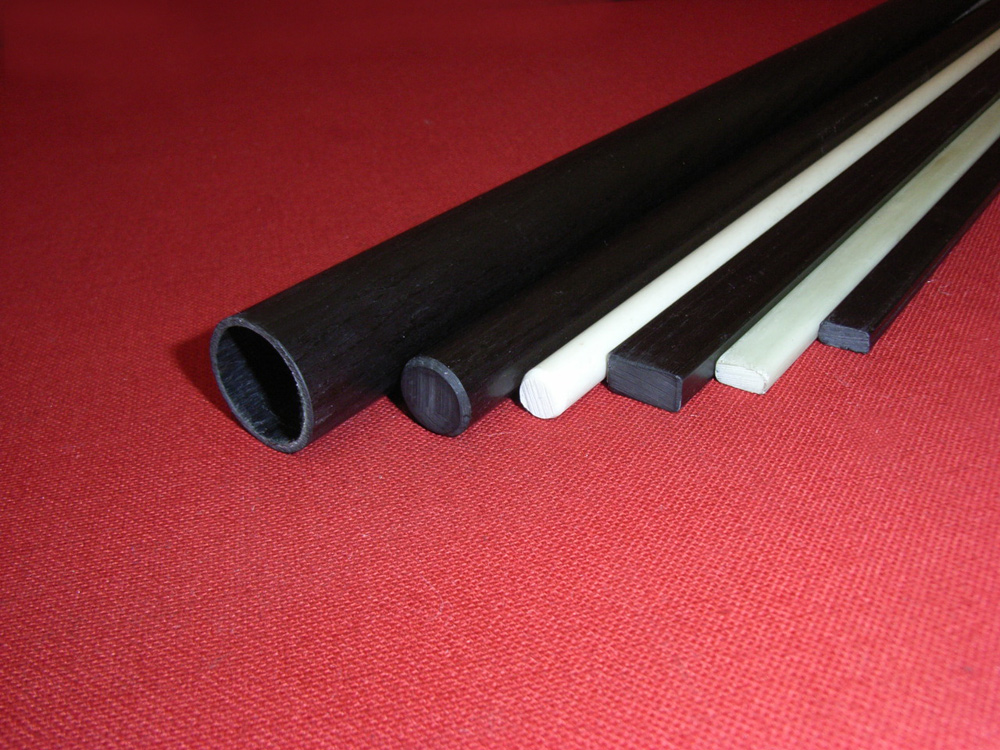 Pultruded tube, rod and profiles