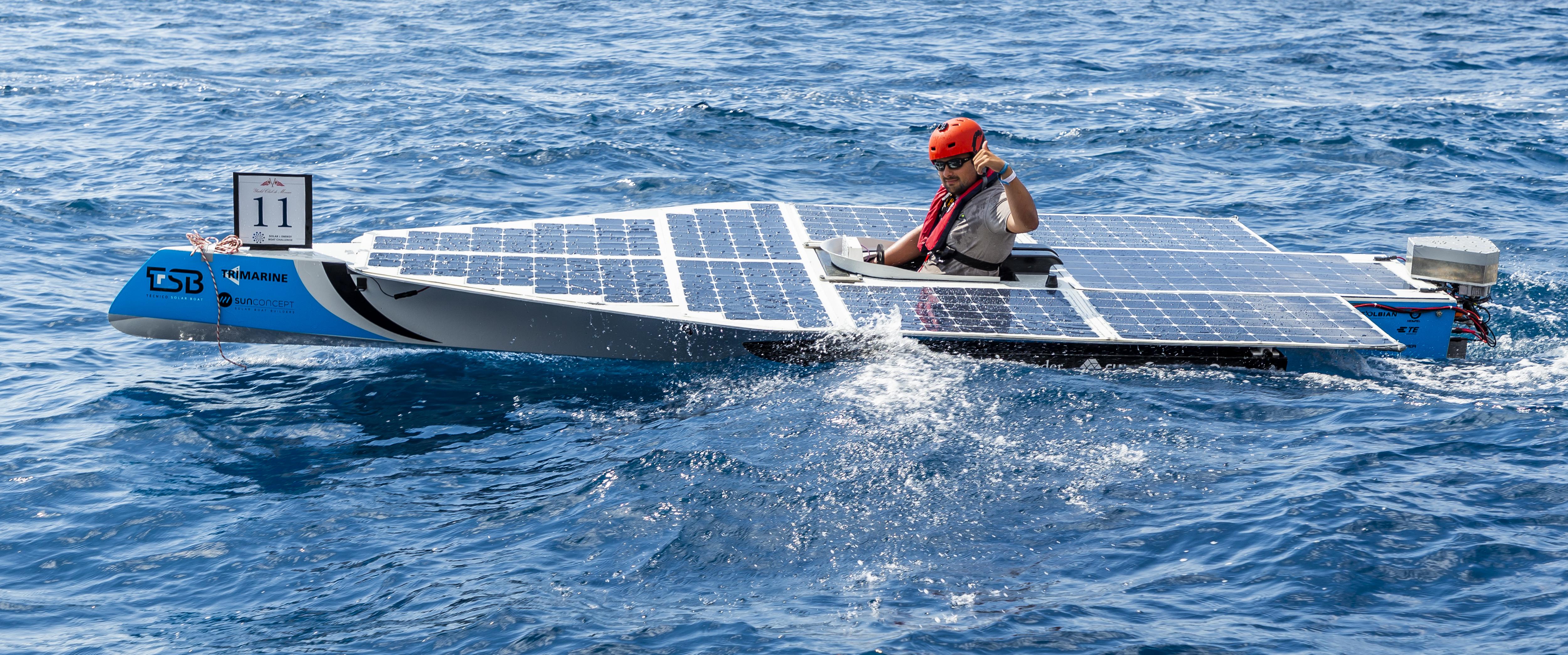 Solar Boat - Full