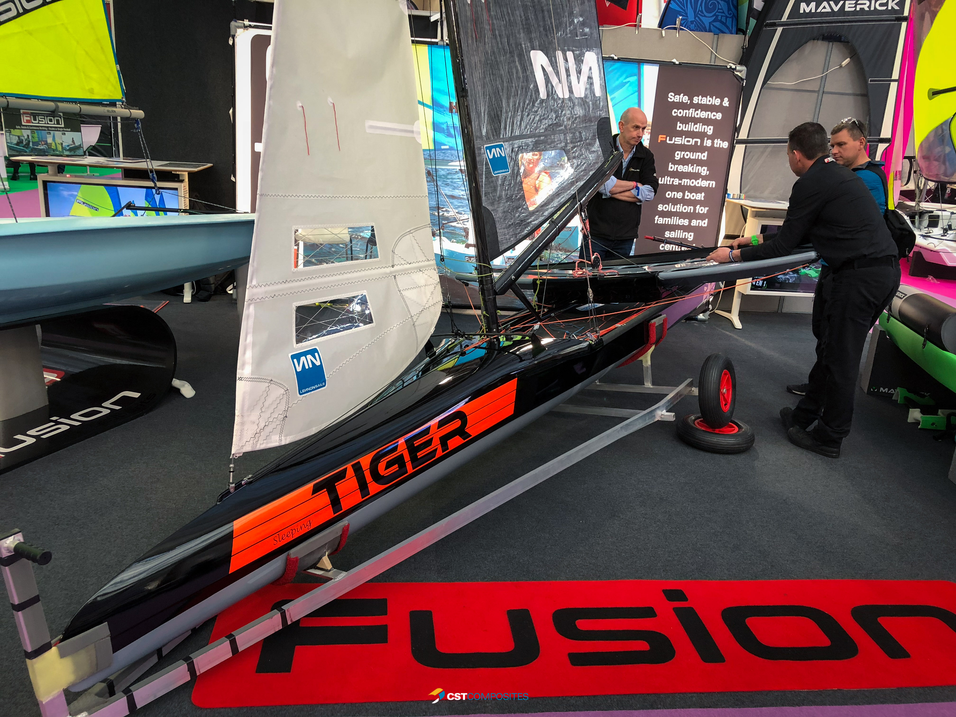 Images from the RYA Dinghy Show